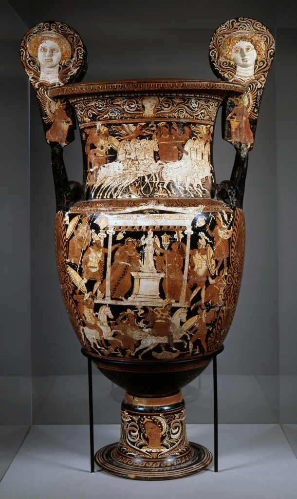Krater Depicting the Sack of Troy Formal Analysis